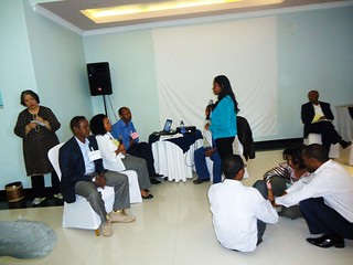UNICEF Ethiopia staff engage in an interactive session at a PPP Training
