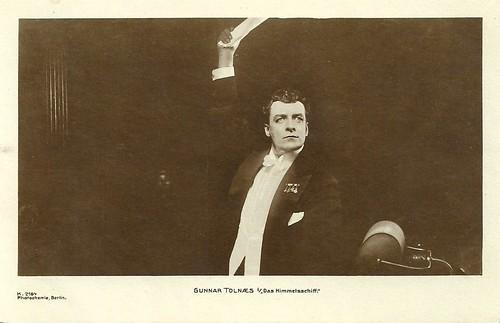 Gunnar Tolnaes in Himmelskibet/ Das Himmelschiff
