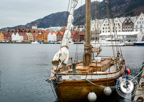 Bergen Harbor, Norway