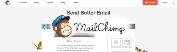 Free Service Images mailchimp