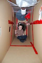Cardboard Space Station -- FGB