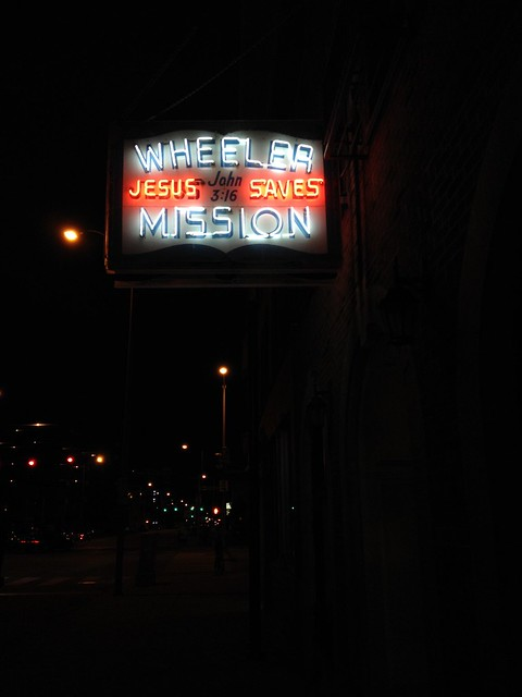 Non-denominational homeless mission, Indianapolis, Indiana