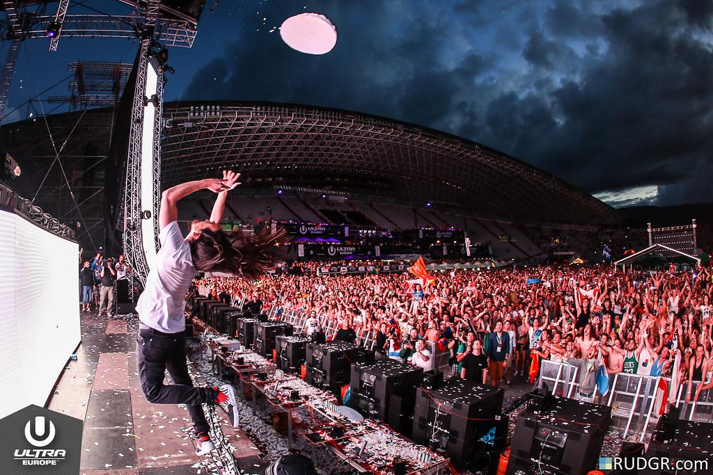 Steve Aoki @ Ultra Europe 2014