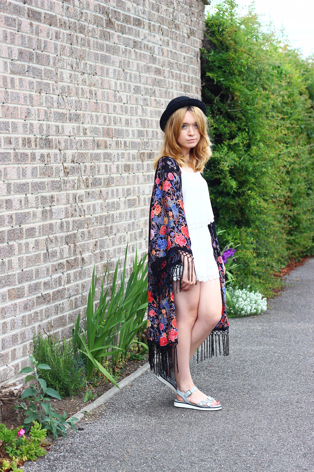 1primarkkimono, festival fashion, kimono, floral