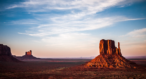 park county sunset red arizona usa west monument rock fire hotel butte view tribal valley navajo mitten