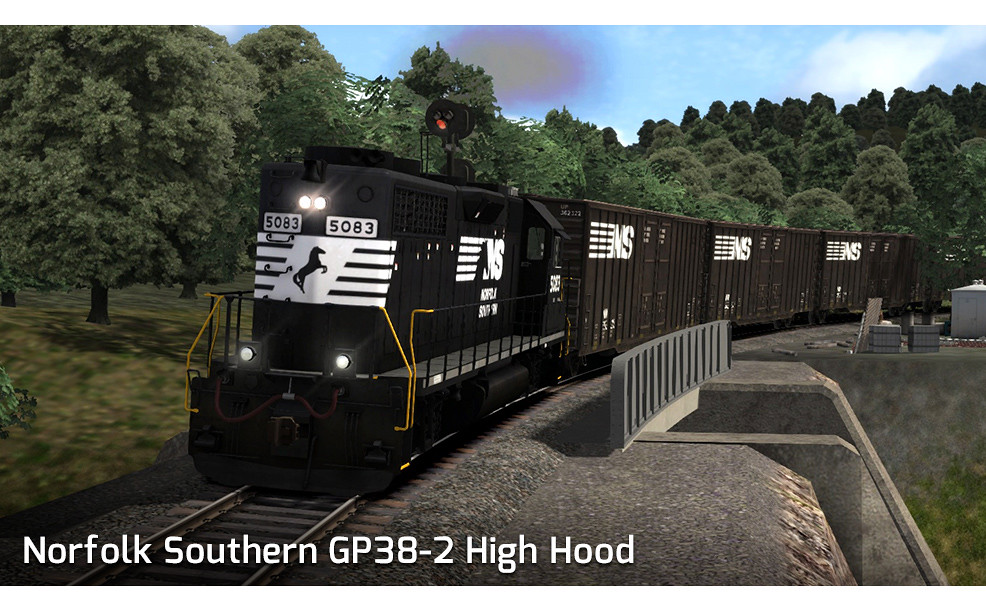 Norfolk Southern GP38-2 High Hood