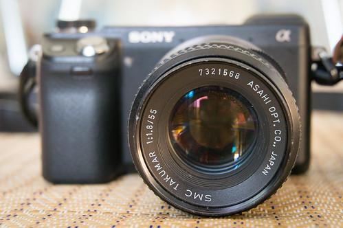 Sony NEX-6 with SMC Takumar 55mm f1.8 2