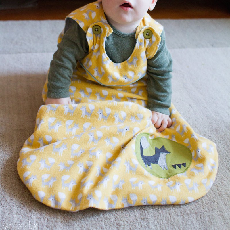 fanfare foxes sleep sack