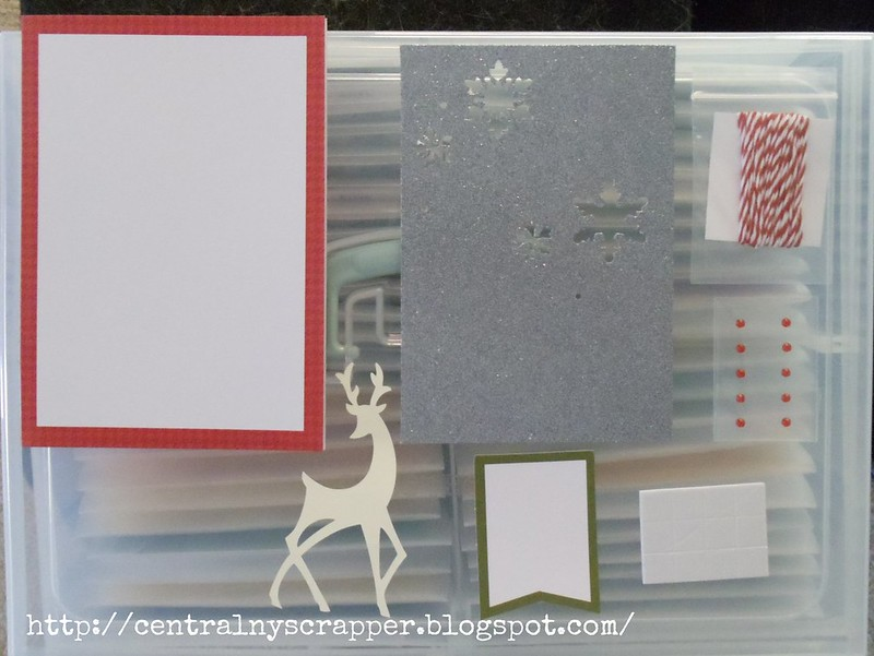 Christmas Card Kit ingredients