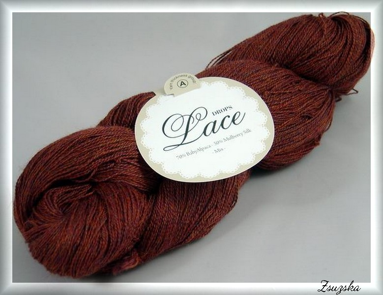 Drops Lace - Burgundy(5565)