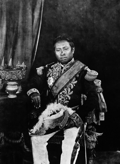 1866 Norodom, the King of Cambodia