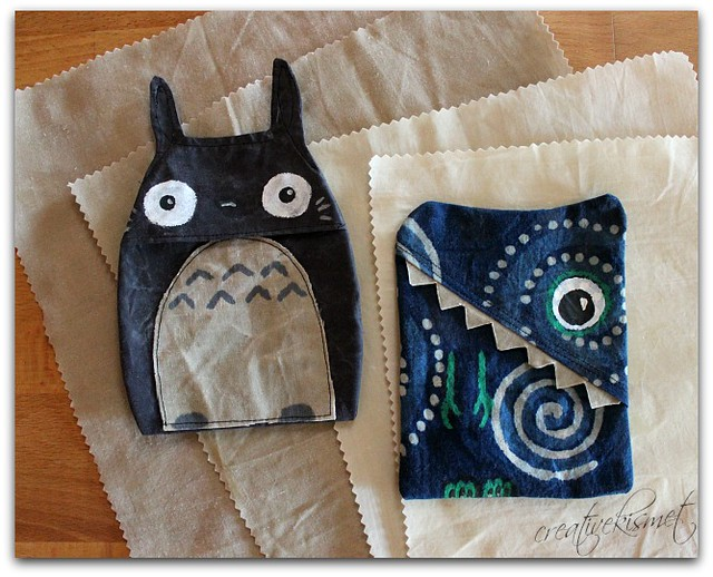 beeswax snack bags by Regina Lord