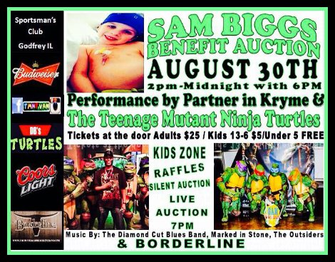 Sam Biggs Benefit 8-30-14