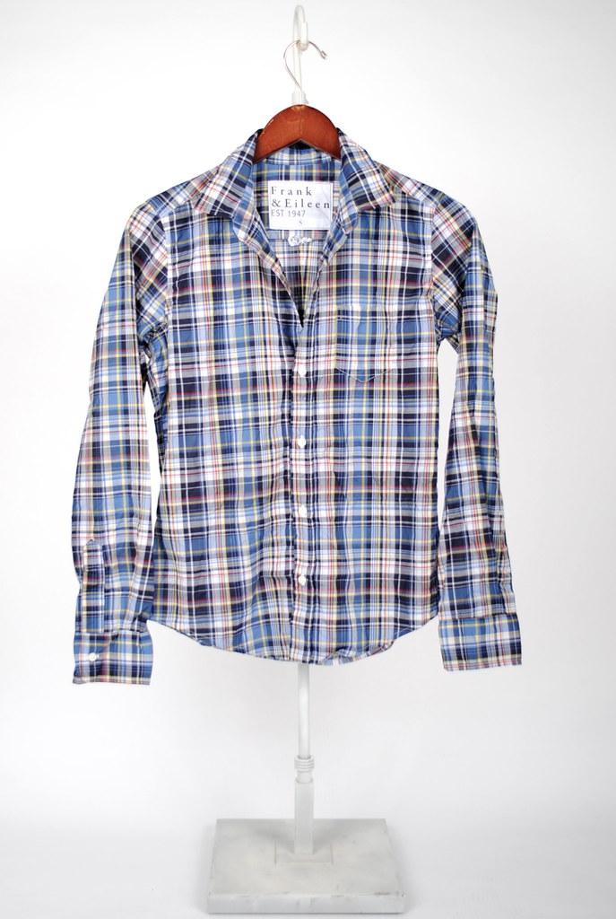 Barry Shirt - Navy Blue Plaid