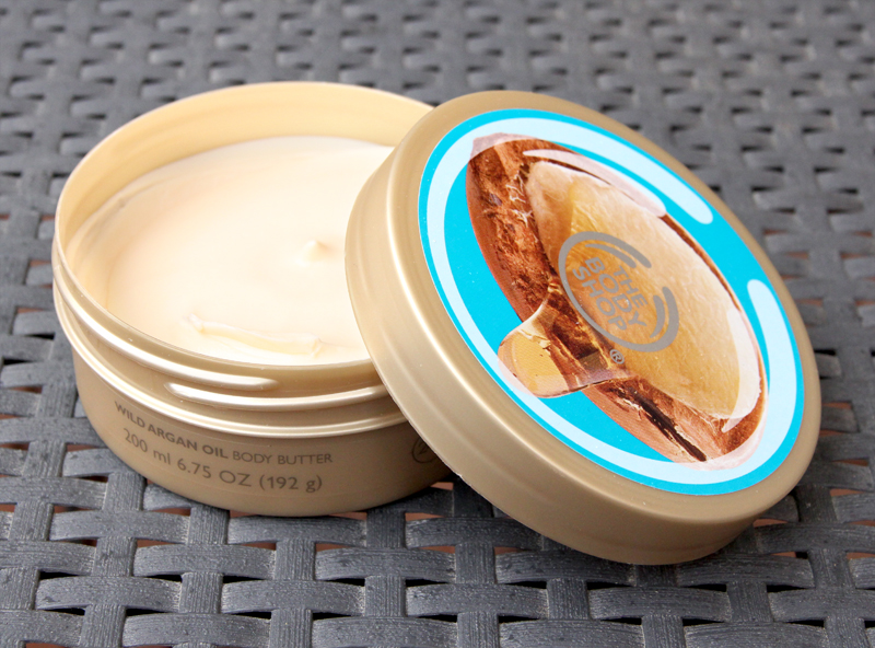 TBS wild argan oil body butter