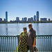 Small photo of Mohini & Haymant at Charles River