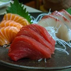 sashimi, fish, lox, food, dish, cuisine, smoked salmon,