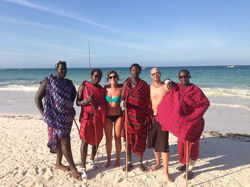 foto ricordo coi masai @ Kiwengwa Beach Resort Zanzibar