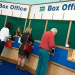 Box Office at the Edinburgh International Book Festival |