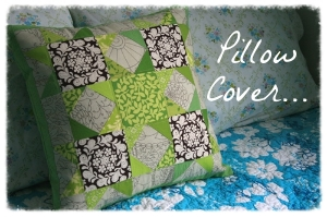 Pillow Cover with Pockets