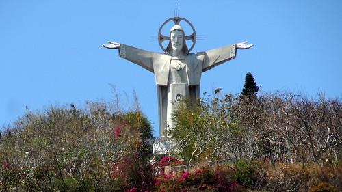 Christ statue in Vung Tau, Vietnam