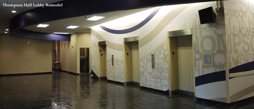 Thompson Hall Lobby Remodel
