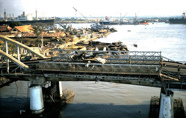 SAIGON 1968-69 - Tan Thuan Bridge - Cầu Tân Thuận
