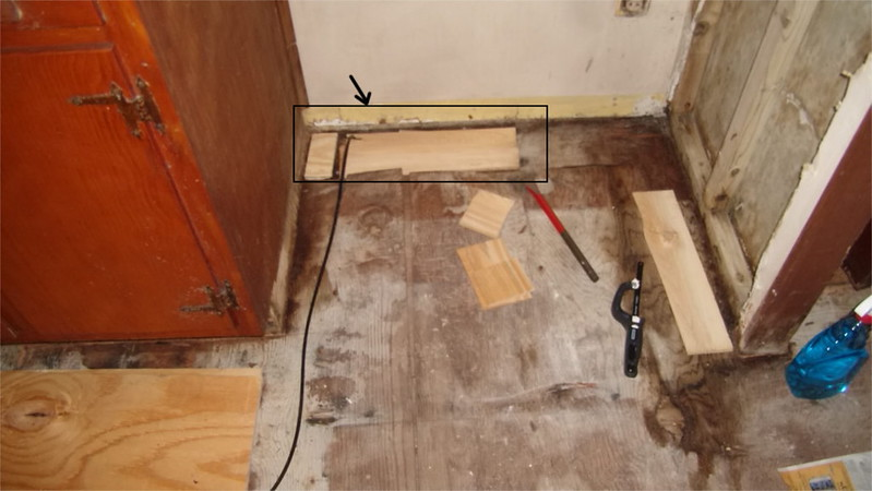 Covering Shims Under Kitchen Cabinets