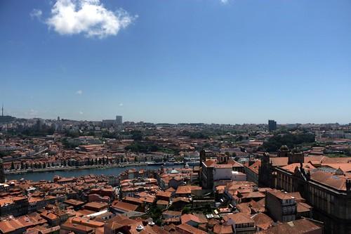 Torre dos Clérigos: panorama dalla torre