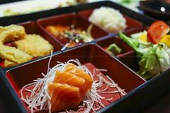 $6.95 Bento Lunch Special - Salmon Sashimi, Grille…