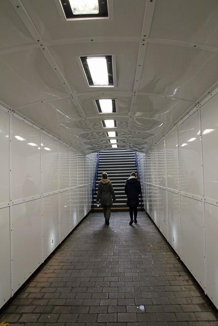 tunneln vid stationen i warwick