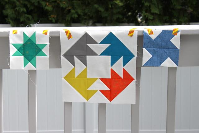 LIMOD sampler quilt blocks
