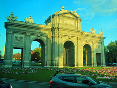 Puerta da Alcala Madrid, Spain