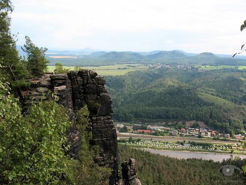 Ausblick vom Lilienstein