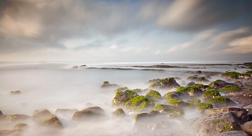 longexposure sea bali mist motion green water clouds indonesia island coast rocks rocky motionblur coastal coastline algae sweeping seawater photographiceffects bw10stopndfilter canoneos5dmark2 canon24105mmf4lislens
