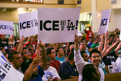 ICE Out of LA March & Town Hall