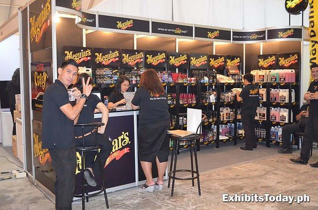Meguiars Exhibit Booth