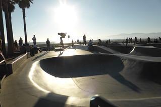 Skate Park en Venice Beach