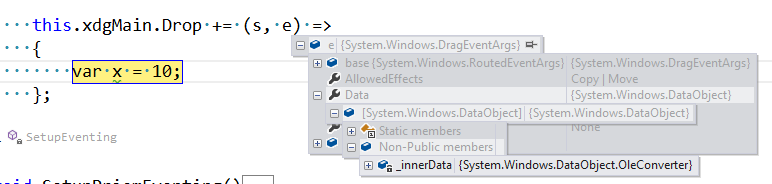 Drag-Drop from Excel to WPF