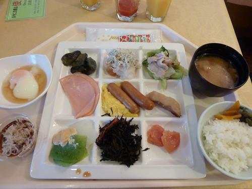 朝食バイキング@中沢ヴィレッジ