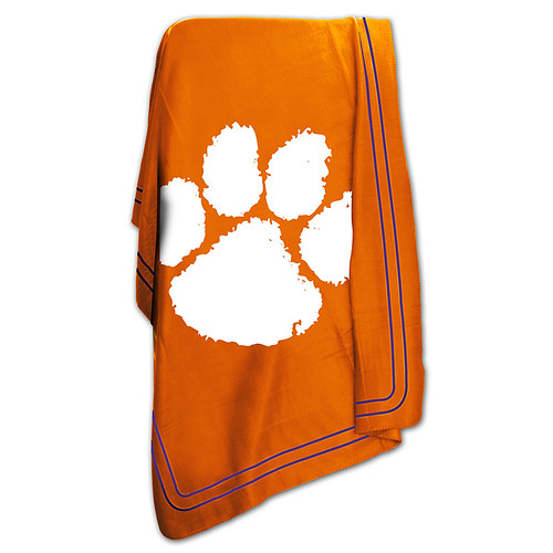Clemson Tigers NCAA Classic Fleece Throw