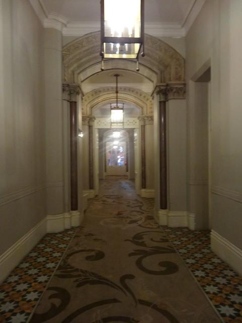 02p - Corridor in St Pancras Chambers