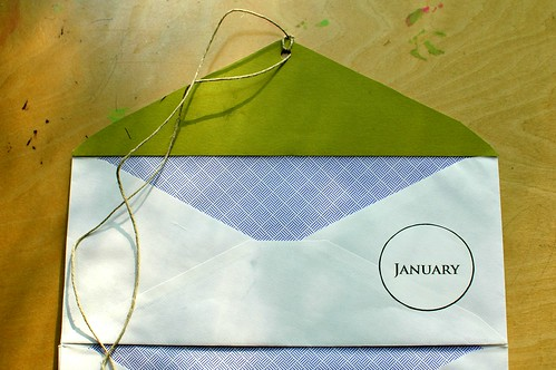 DIY Envelope Receipt Book