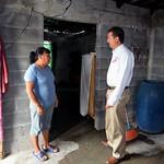 Para Construcción a Familia Afectada por las Lluvias.  19 Septiembre 2014
