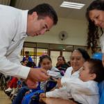 A personas discapacitadas UNEDIF  22 Septiembre 2014