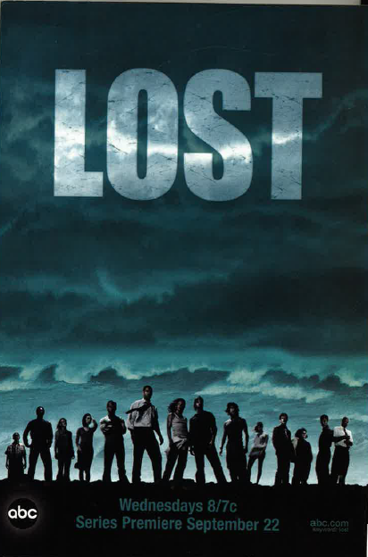 Lost 2004 premiere ad color