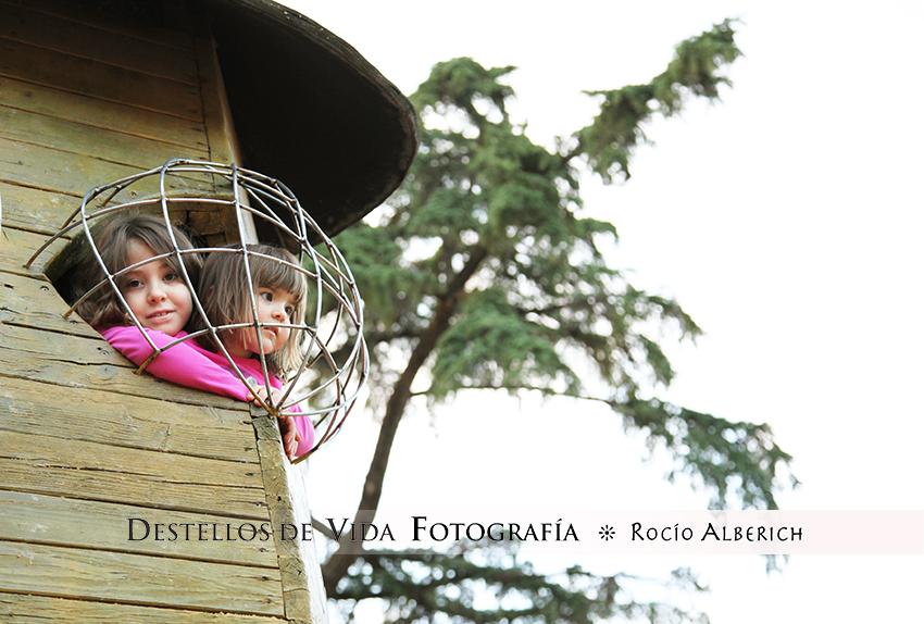 Qué bonita es la infancia... y como disfrutan con todo!