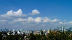 London Skyline from Point Hill