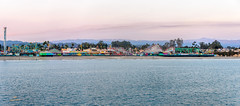Santa Cruz Boardwalk panorama