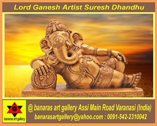 Lord Ganesh Artist Suresh Dhandhu
